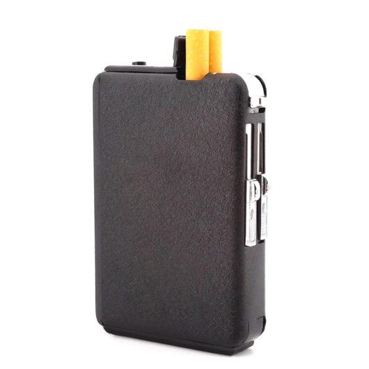 портсигар с зажигалкой
