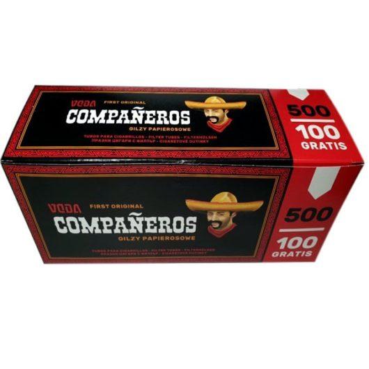 Сигаретные гильзы Companeros 500