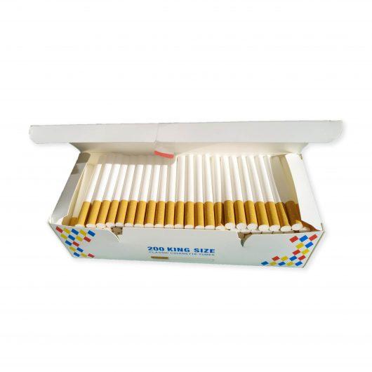 сигаретные гильзы фильтр 22,5 мм 200 штук